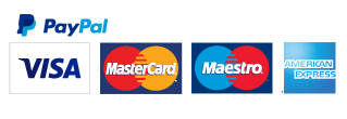Pay with PayPal - Visa, Mastercard, American Express, Maestro